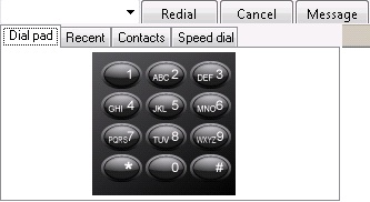 KB32531: Buttons don't depress in dial pad when dialing DTMF digits